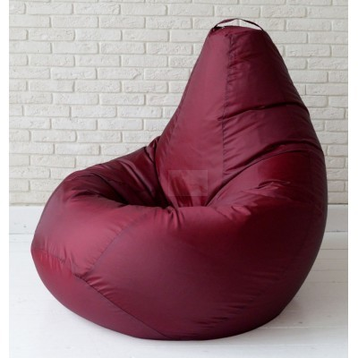 Кресло мешок Классическое Бордо