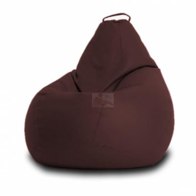 Кресло мешок Кожа Коричневое