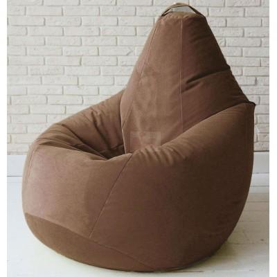 Кресло мешок Велюр Шоколад