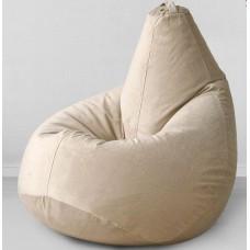 Кресло мешок Велюр Крем