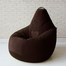 Кресло мешок Велюр Кофе