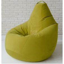 Кресло мешок Велюр Зеленое