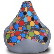 Кресло мешок Шары (Оксфорд + Жаккард)