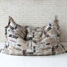 Кресло мешок Подушка Газета
