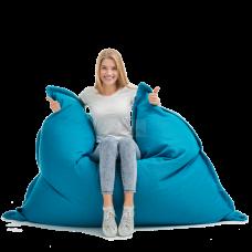 Кресло мешок Подушка Бирюза (Велюр)