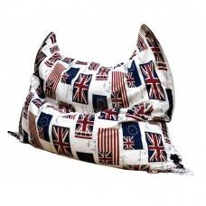 Кресло мешок Подушка Флаг