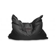 Кресло мешок Подушка Черная (Оксфорд)